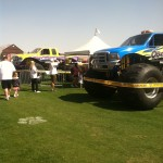 monster jam display